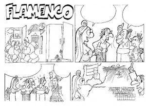comic flamenco