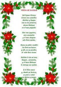 poesia de navidadad