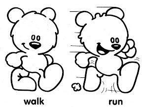 ingles correr