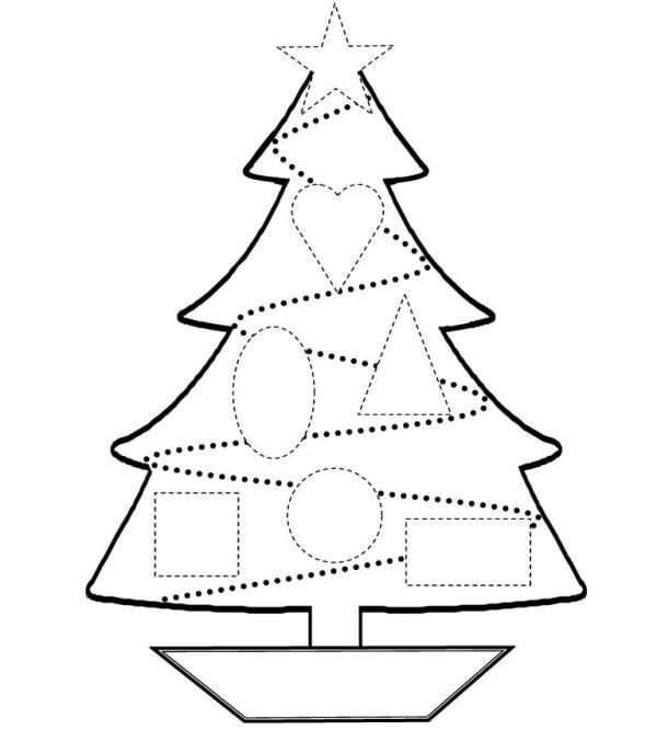 Dibujos De Arboles De Navidad Para Colorear Tu Arbol De Navidad