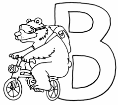 Dibujos Infantiles Con La Letra B Para Colorear