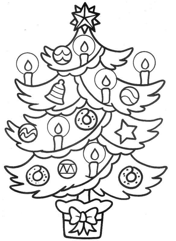 Arboles De Navidad Dibujos Coloreados.Dibujos De Arboles De Navidad Para Colorear Tu Arbol De Navidad