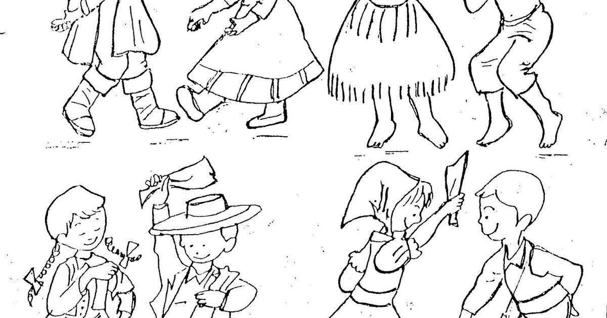 Dibujos Para Colorear De Pueblos Originarios De Chile